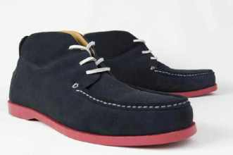 Massive Things Mighty - Navy Suede 558rb