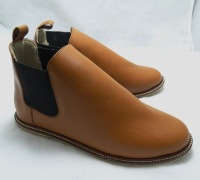 (AM-03) Sepatu Ankle Boot Kulit Asli