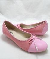 (AM-16) Sepatu Wedges Pretty Pink