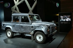 Land Rover Defender from James Bond 007 - Skyfall at PMS 2012 1