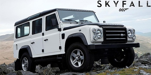 Land Rover Defender from James Bond 007 - Skyfall at PMS 2012 3